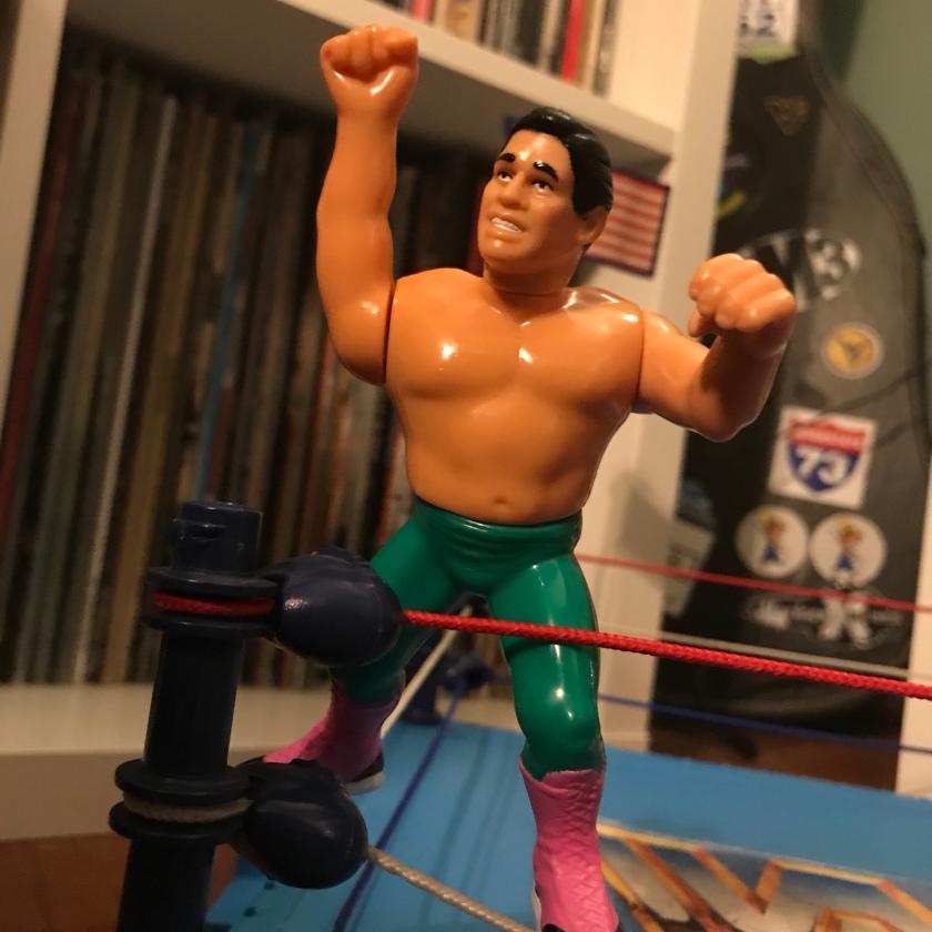 WWE Mattel EL MATADOR BULL FIGHT CAPE Wrestling Figure Accessories TITO SANTANA